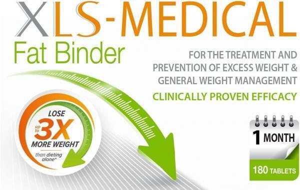 XLS Medical Fat Binder Effective Weight Loss